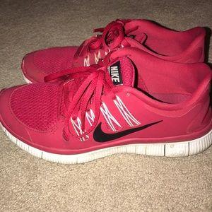 Raspberry Red Nikes